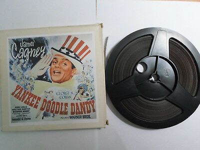 Super 8mm sound 1x400 YANKEE DOODLE DANDY. James Cagney musical classic.