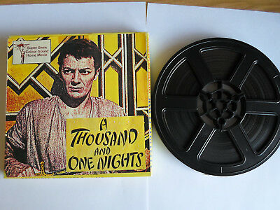 Super 8mm sound 1x400 A THOUSAND AND ONE NIGHTS. Evelyn Keyes classic.