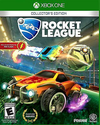 Rocket League Collector's Edition + 3 DLC Packs + Art Print Xbox One Console !!!