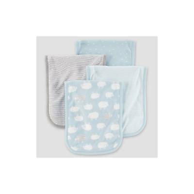 Baby Boys' 4pk Burpcloths - Just One You® made by carter's Blue Sheep On...