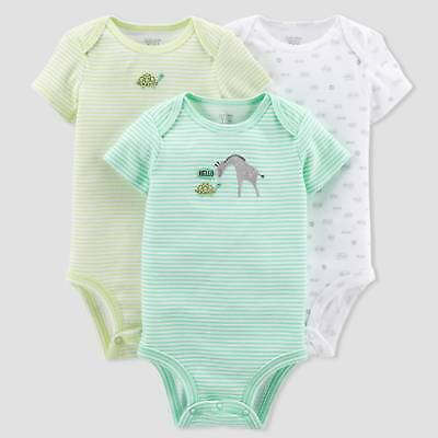 Baby 3pk Giraffe Bodysuit Set - Just One You™ Made by Carter's®  Gr...