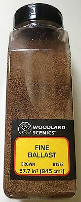 Woodland Scenics Fine Ballast Brown Shaker Item # B1372 Factory Sealed
