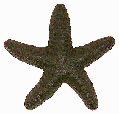 Coastal Starfish Shaped Drawer  or Cabinet Door Pull Cast Iron