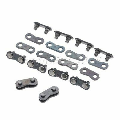 10 Set Chainsaw Chain Joiner Links Parts For JOINING 325 058 CHAINS 1.5x0.5cm