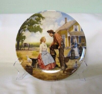 """Knowles OKLAHOMA! Musical """"Oh, What A Beautiful Mornin' Collector Plate 8 1/2""""D"""