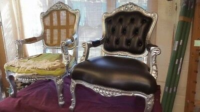 Baroque Chair Armchair Antique Furniture Seat Vintage French