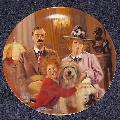 Annie, Lily, Rooster Collector Plate Edwin M. Knowles 1986 Limited Edition