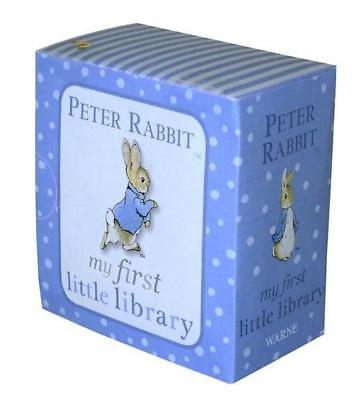 NEW Peter Rabbit My First Little Library By Beatrix Potter Box or Slipcased