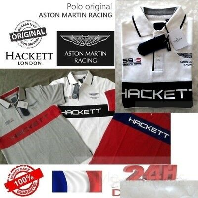 100% Authentic ASTON MARTIN RACING by Hackett - POLO - S / M / L100% Authentic A