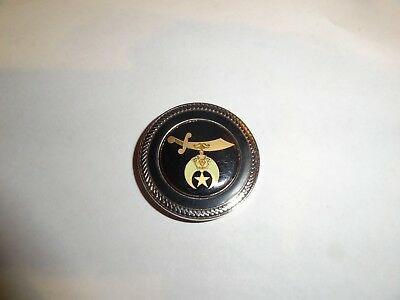 Challenge Coin Sword And Moon With Star Opens Up As Golf Putt