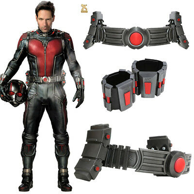 Ant Man Belt Wristguard Cosplay Costume Props Led Lights Comics Deluxe Party COS