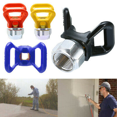 Airless Paint Spray Gun Flat Tip Nozzle Guard For Titan Wagner Sprayer New