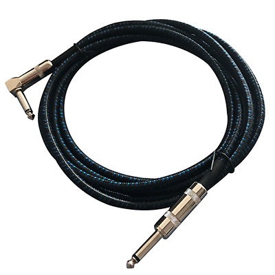 Guitar Cable for Bass Keyboard Instrument Professional 1/4inch (6.3mm) Stra P4T1