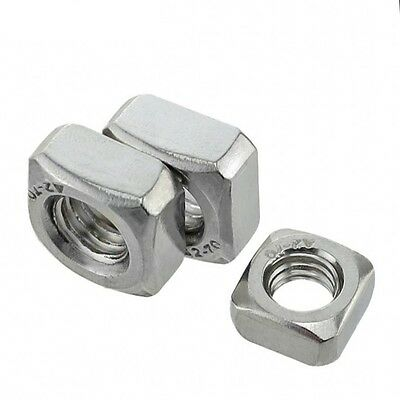 M6*10*5 Square Nuts Machine Screw Nut 201 Stainless Steel
