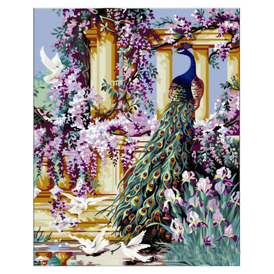 16X20inch ACRYLIC PAINT BY NUMBERS KIT OIL PAINTING ON CANVAS PICTURE Garde V5E8