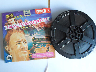 Super 8mm sound 1x400 FRENCH CONNECTION II. Gene Hackman classic.