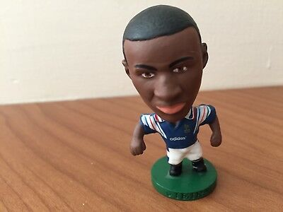 Vintage Corinthian Prostar football figure - Patrick Viera - France home kit