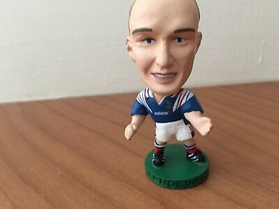 Vintage Corinthian Prostar football figure - Frank Leboeuf - France home kit