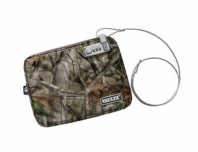 Vaultz Locking Field Gear Pouch with Tether Large 9.5 x 12 Inches Next Camo (...