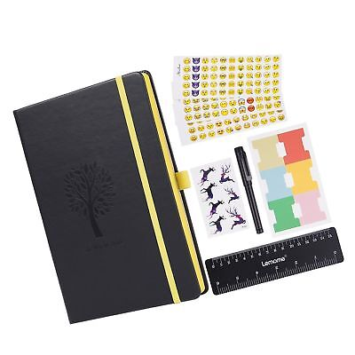 Bullet Journal - Lemome Dotted Numbered Pages Hardcover A5 Notebook with Pen ...