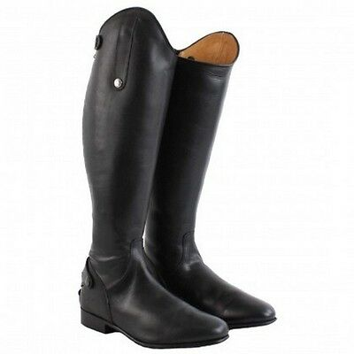 Mark Todd Long Leather Competition Dress Boots Standard or Wide - UK 4 to 9