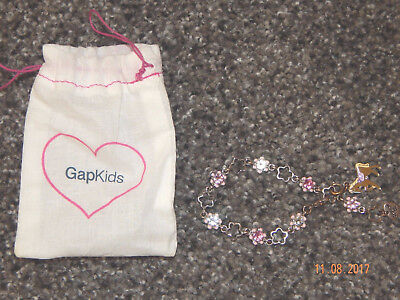 Youth Girls Gap Kids Brand Charm Bracelets--Excellent Condition--Horse Charm