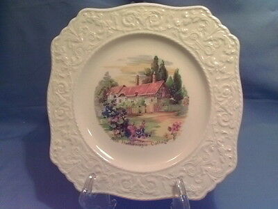 Royal Winton Grimwades Anne Hathaway Embossed Edge Ascot Style Cabinet Plate