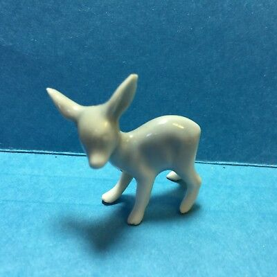 Vintage Very Small Ceramic Fawn/ Doe/Deer Figurine /Figure #97