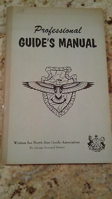 Vintage Professional Guide Manual Written For North Star Guide Association