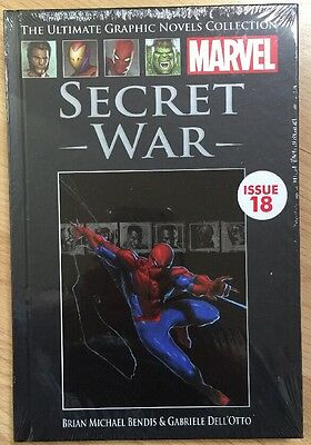 Marvel The Ultimate Graphic Novels Collection Secret War Issue-18