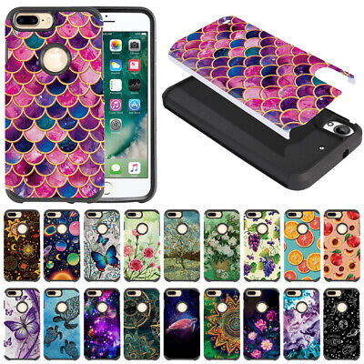 "For Apple iPhone 8 Plus/ iPhone 7 Plus 5.5"" Shock Proof Impact Hybrid Case Cover"
