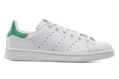 Bambino Adidas Originals Stan Smith J Sneakers Bianco