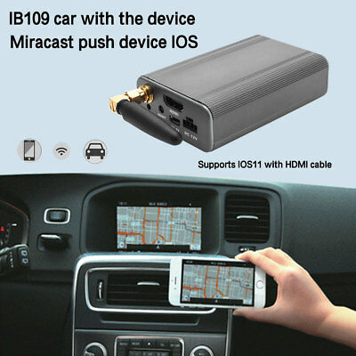 WIFI Miracast Pusher Car Screen Mirror Link Display For iOS Android Phone