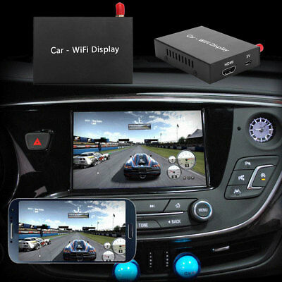 WIFI HDMI Pusher Car Vehicle Screen Mirror Display Device For iOS Android Phone