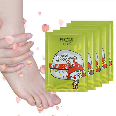 Bamboo Vinegar Powder Lavender Feet Paste Soothing Relax Foot Mask Keep Health