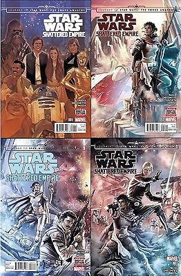 STAR WARS JOURNEY TO the FORCE AWAKENS Shattered Empire 1 2 3 4 1st print NM