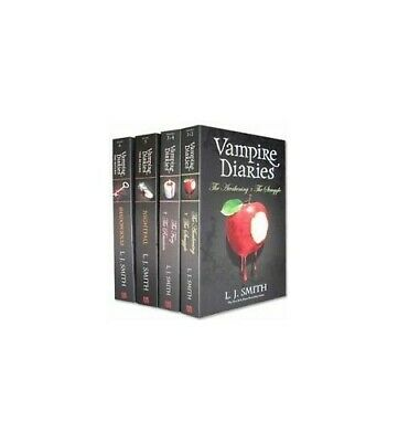 Vampire Diaries 1-4 Boxed Set B Format (TESCO) Book The Fast Free Shipping