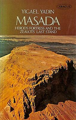 Masada (Abacus Books) by Yadin, Yigael Paperback Book The Fast Free Shipping