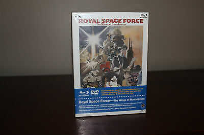 Royal Space Force - The Wings of Honneamise Blu-ray/DVD Combo Box Set - Bandai