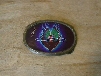 Journey 1970s vintage belt buckle. Rock memorabilia