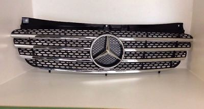 Brand New Genuine Mercedes  Vito WDF639 Front Grille with Chrome Inserts BNIB