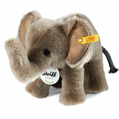 Steiff Trampili Elephant Plush Grey