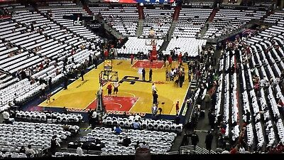 Washington Wizards Charlotte Hornets 2 Tickets 3/31/2018 Ledge Food Parking