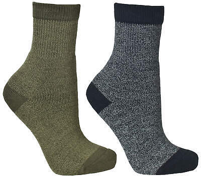 Trespass  Dipping Boys Casual Walking Hiking Socks 2 Pairs in Pack