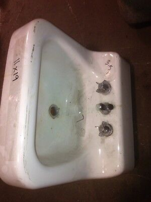 American Standard Radiator and Sanitary Corporation Porcelain Cast Iron Sink