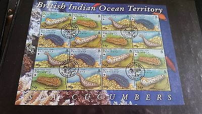 British Indian Ocean Territory 2008 Sg 392-395 Endangered Species Sheetlet Used