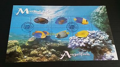 British Indian Ocean Territory 2006 Sg Ms353 Marine Life (1St Series) Used