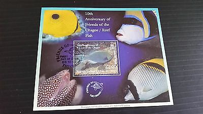 British Indian Ocean Territory 2002 Sg Pms1 10Th Anniv Of Friends Of Chago  Used