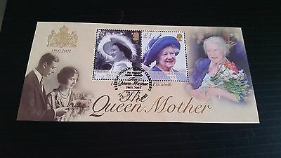 British Indian Ocean Territory 2002 Sg Ms269 Queen Mother Used