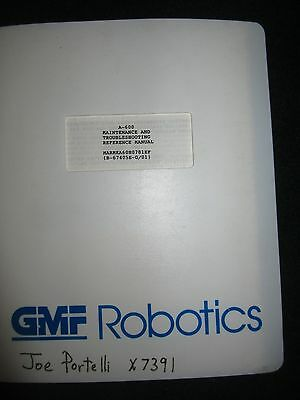 FANUC Robot A 600 Maintenance & Troubleshooting Reference Manual GMFanuc A-600
